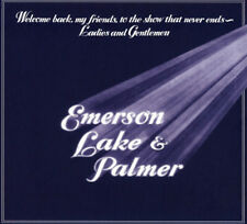 Emerson, Lake & Palmer : Welcome Back My Friends to the Show That Never Ends CD