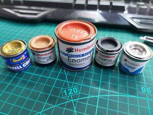 Modelo Pintura 10 X REVELL 18ml Aqua Acrílicas Elegir Mezcla Cualquier 10 Color