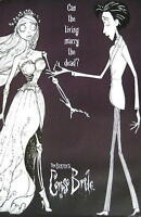 CORPSE BRIDE FILMPOSTER CAN THE LIVING MARRY THE DEAD TIM BURTON KINOPLAKAT