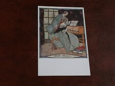 ORIGINAL RIE CRAMER SIGNED ART DECO GLAMOUR POSTCARD - VIEILLES CHANSONS, MUSIC.