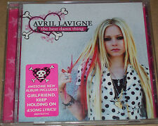 AVRIL LAVIGNE - The Best Damn Thing (12 Track CD: 2007) VGC