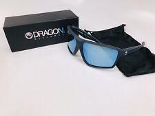 7900d11ee4 Gafas de sol Dragon Dr Tenzig 035 Mate Pizarra con lentes de Ion Azul