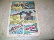 Clear The Track 1956 Railroad Comic Book
