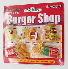 Miniatures Burger Shop Magnet - Re-ment  , h#1