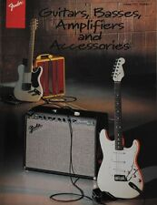 Fender - Guitars, Basses, Amplifiers and Accessories Catalogue (1996)