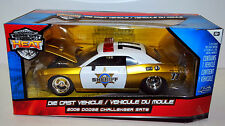 Jada Heat 2008 Dodge Challenger SRT8 Sheriff Police 1:24 scale model Gold MIB