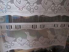 rideaux L 45 cm neuf avec des oies  vendu par tranche de 22 cm