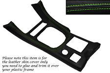 Verde Stitch Gear envolvente Cuero Piel tapa se ajusta Mitsubishi Gto 3000gt 92-99