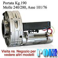 MOTORE SERRANDA AVVOLGIBILE SARACINESCA PORTATA 190 KG. MOLLE 240 ASSE 101 - 76