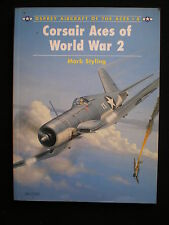 Corsair Aces of World War 2 by Mark Styling  Osprey Aircraft of the Aces 8 1995