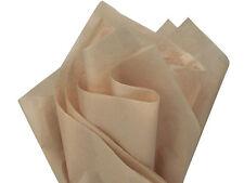 DESERT TAN Khaki Tissue Paper WHOLESALE Gift Wedding Wrapping 100 sheet 15x20
