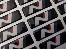 [3-Pack] Hyundai N Logo Emblem Sticker Performance i30N Veloster Kona Elantra