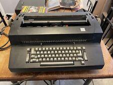 Ibm Selectric Ii Correcting Dual Pitch Typewriter Black Working