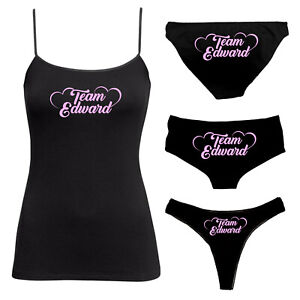 Team Edward Knickers/Panties Thong Booty Shorts Funny Sexy Kinky Knickers - 169