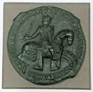 Edward II Edward of Carnarvon Great Seal Medieval Reproduction