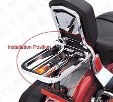 2-UP Black Sport Luggage Rack For Harley 04 & up XL models 02-05 Dyna