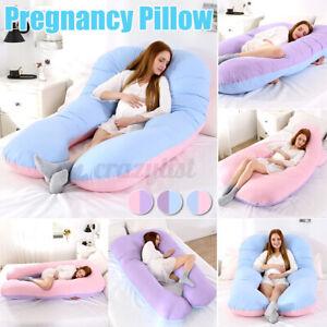 Comfort U Shape Pregnancy Pillow Full Body Nursing Maternity Support Cushion o