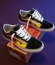 VANS OLD SKOOL AUTHENTIC FLAME/ BLACK SIZE 11!! VISIT OUR EBAY STORE!!