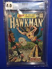Hawkman 1 CGC 4.0 Origin 1st Chac Title Appearance Black Adam JSA DC Comics 1964