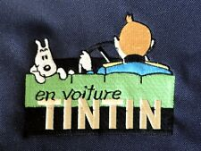 "TINTIN - Sacoche - Sac bandoulière "" En voiture Tintin "" - NEUF"