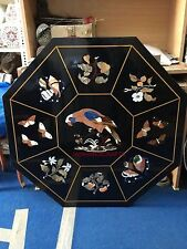 4'X4' Dining corner Coffee side center parrot room Table Top Inlay malachite