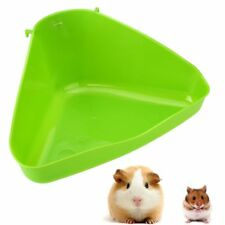 Tray Box Animals Pet Corner Toilet Litter Mouse Rat Rabbit Hamster Mice Plastic