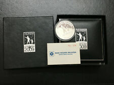 Malaysia 2009 Astronomy Proof Silver coin Single with box and cert