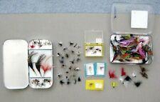 70+ Fishing Lures: FLIES & STREAMERS + Leader Box
