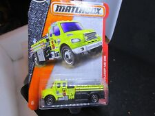 Matchbox FREIGHTLINER Fire Truck new on card