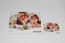 Schleich Katalog === DIN A4 Schleich 2012  groß + klein !