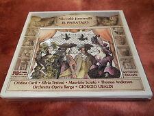 Niccolo Jommelli: Il Paratajo. CD Curti, Testoni, Sciuto, Orchestra Opera Barga