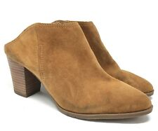 New Franco Sarto Womens Denzel Tan Mule/Booties Shoes Size:11 M