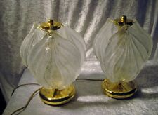 "Vintage Murano Glass ""Leaf""  Tabel  Lights, Lamps Lamp  Novaresi"