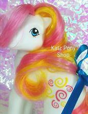 HQG1C Custom Vintage G1 Pretty Mane MLP Style Pony  🧡 WHIRL 🧡 Artistry Girl!