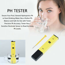 Water PH Meter Tester Aquarium Pool Pen Digital Hydroponics Portable Test Kit