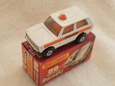 Vintage Matchbox Lesney # 20c Rolamatics / Police Range Rover 1975 – MIB