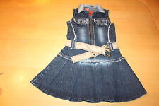 @ schickes Jeanskleid @ Here & There cool by C&A @ TOP @ Gr. 122