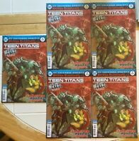 Teen Titans #12 LOT OF 5  2nd PRINT  1ST BATMAN WHO LAUGHS DARK NIGHTS METAL DC