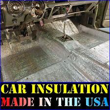 Car Insulation 6 Sqft Thermal Sound Deadener Mat - Block Automotive Heat & Sound