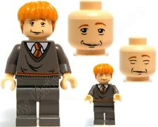 Lego Harry Potter Minifigure Ron Weasley from Set 4762 4768 5378 100% REAL