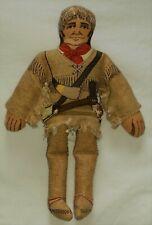 Collectible 1979 Hallmark Historical Figure Cloth Doll: Davy Crockett