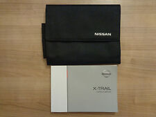 buy manuals handbooks x trail car manuals and literature ebay rh ebay co uk owners manual nissan x trail 2005 nissan x trail 2018 owner's manual pdf