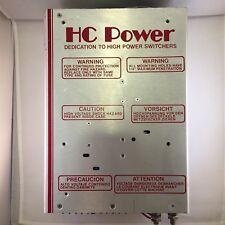 HC Power HC10-C1063 Power Supply 5V100A, 12V15A, 10V5A, 12V15A outputs