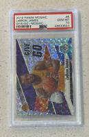 Lebron James Panini Mosaic Give And Go Silver PSA 10 GEM MINT Lakers MVP