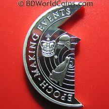 1997-2000 SAMOA $5 TALA SILVER PROOF HELMET CROWN EPOCH EVENTS JIGSAW COIN RARE!