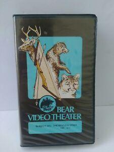Vtg Bear Video Theater VHS Fred Bear Archery Hunting Video The Restless Spirit