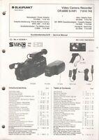 BLAUPUNKT - CR-6000 S-HiFi 7 618 743 - Anleitung Manual Schaltbild - H-4015