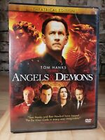 Angels & Demons (Single-Disc Theatrical Edition) - DVD - VERY GOOD