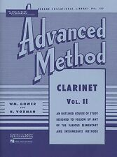 Rubank Advanced Method – Clarinet Volume 2, Advanced Level, 80 Pages