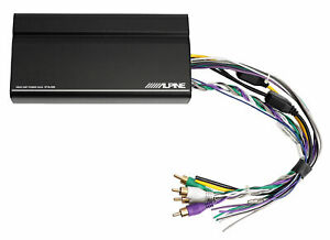 ALPINE KTA-450 400w 4-Channel Car Amplifier Hideaway Amp Mounts Behind iLX-W650